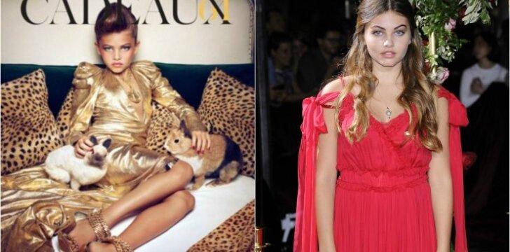 Skandalinga fotosesija prieš 6 metus: kaip gražiausia vadinta mergaitė atrodo šiandien