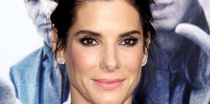 Aktorė Sandra Bullock – jau dviejų vaikų mama