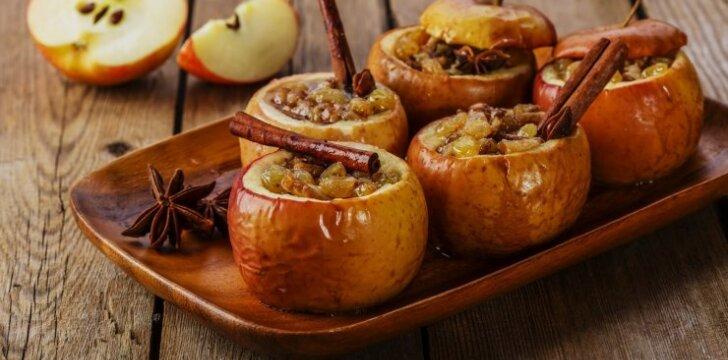 Patys skaniausi kepti obuoliai