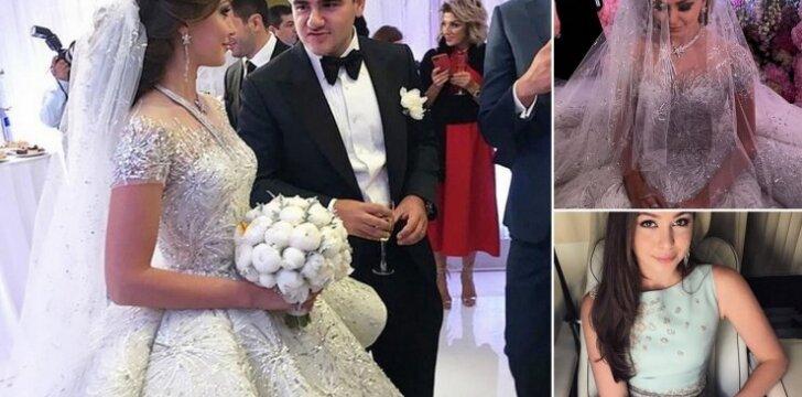 Neįtikėtina, kiek kainavo šių Rusijos turtuolių vestuvės