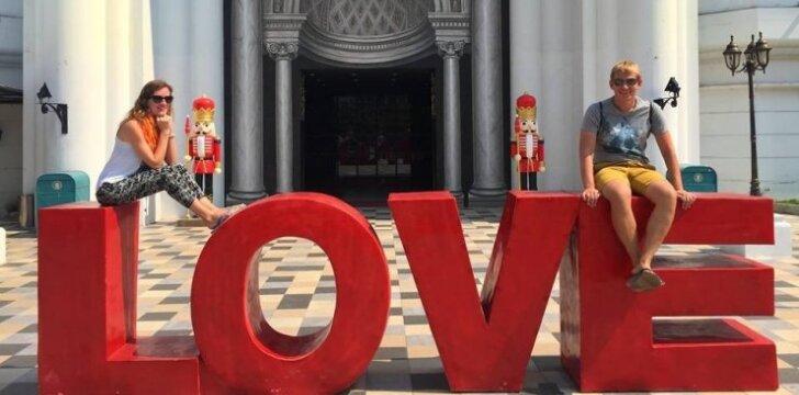 Ieva ir Donatas Tailande
