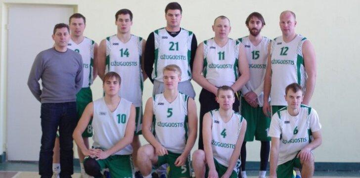 Užuguosčio krepšinio komanda