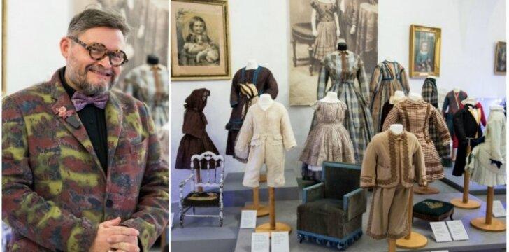 Istorinėje Aleksandro Vasiljevo parodoje - vaikų aprangos ir gyvenimo būdo įdomybės