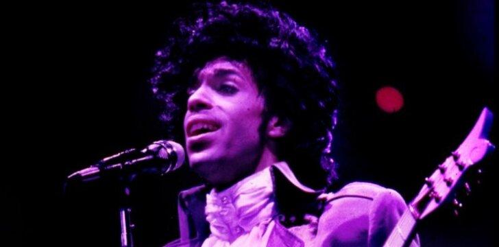 Originaliai įamžintas muzikos žvaigždės Prince'o atminimas