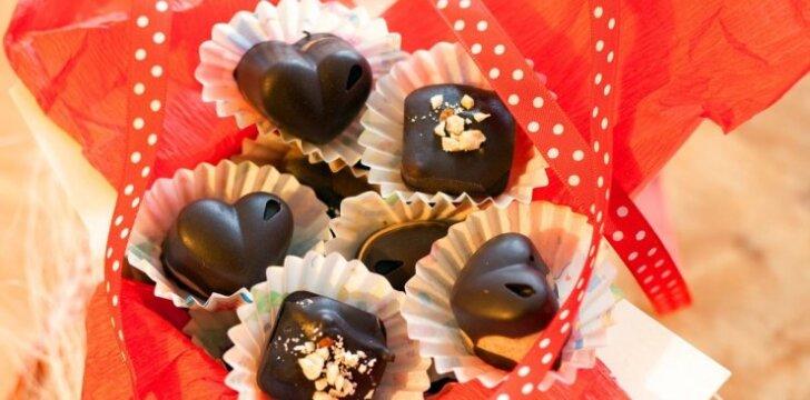 Alvilės Rimaitės šokoladiniai saldainiai