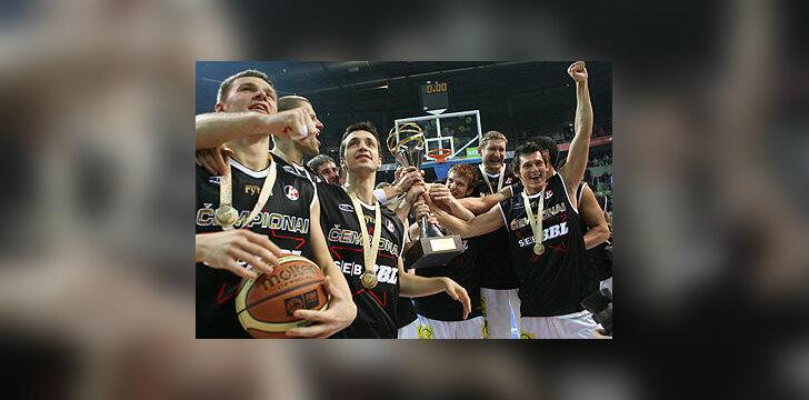 """Lietuvos rytas"" - SEB BBL čempionas"