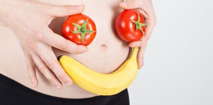 Kodėl nėščiosios turi atidžiai žiūrėti, ką dedasi į lėkštę