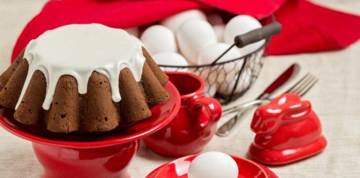 Šokoladinis keksas VELYKOMS