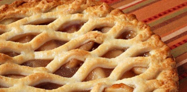 Olandiškas pyragas su obuoliais