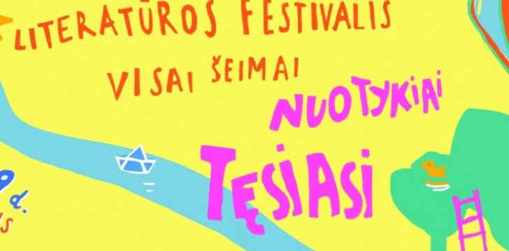 Nemokamas festivalis vaikams primena: knygų skaitymas yra džiaugsmas ir malonumas, o ne prievolė
