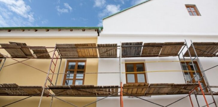 Dezinfekuoti fasadus – per didelė prabanga?