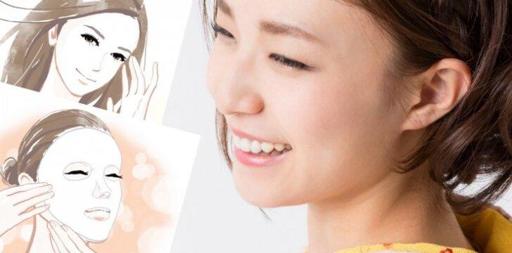 """<span style=""""color: #c00000;"""">Senovinė japonų</span> metodika: veido odos atjauninimas vos per 5 dienas"""