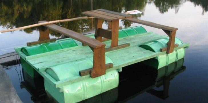 Darau pats: vasaros palydėtuvėms - poilsinė ant vandens už 11 eurų
