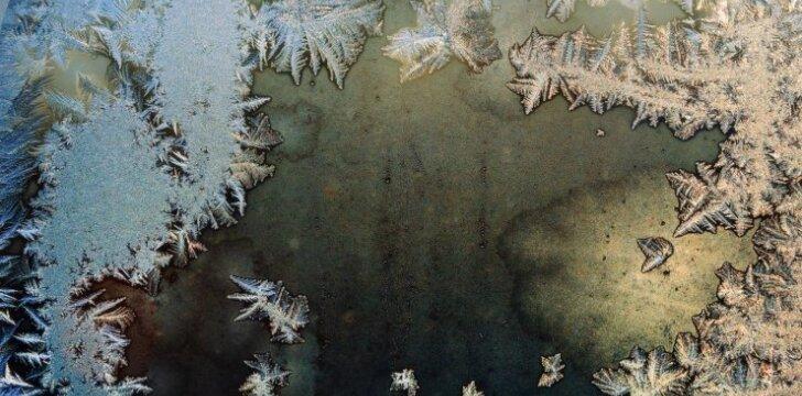 6 sprendimai, kaip pasirūpinti iš vidaus apledėjusiais langais