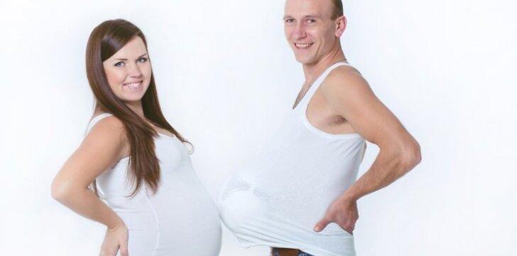 """Kaip jaučiasi """"nėščias"""" vyras?"""
