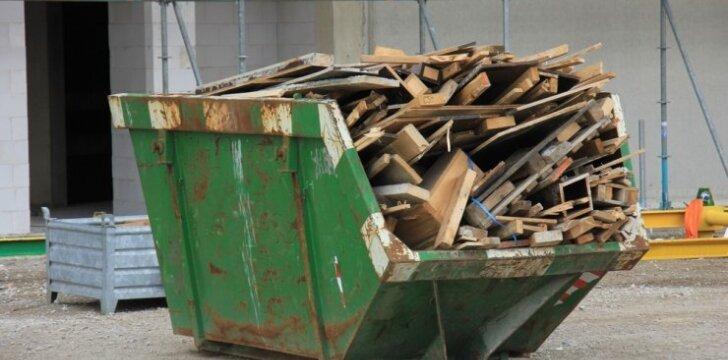 Kur dėti statybines atliekas?
