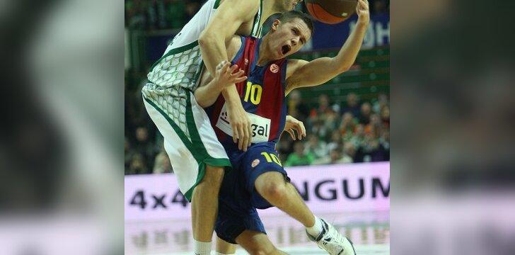 """S.Jovaiša: Barselonos krepšininkai """"Žalgiriui"""" leido pasireikšti"""