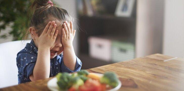 Dažniausia mitybos klaida, kurią daro tėvai vaikui susirgus