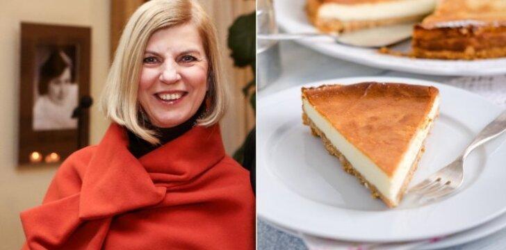 N. Narmontaitė ir gardus pyragas