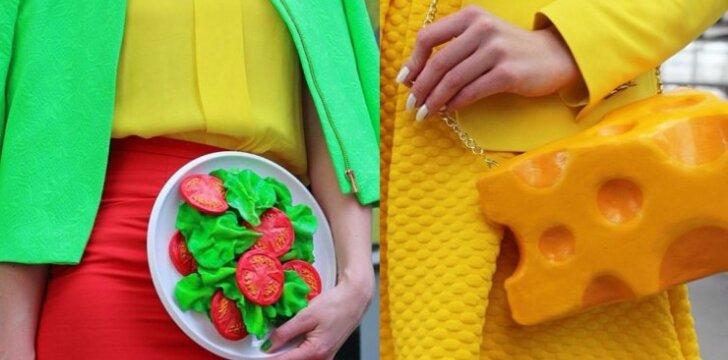 Nauja mada - maistas ne į kūną, o ant jo (FOTO)