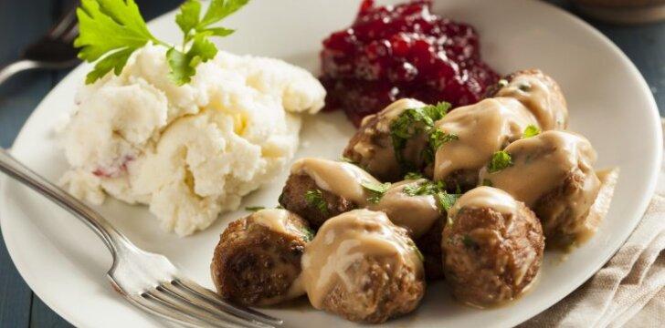 Švediški mėsos kukuliai