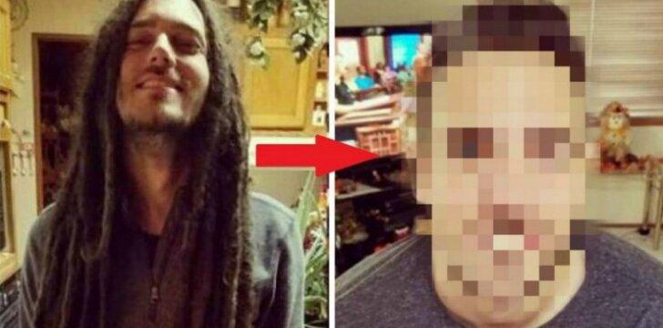 Vaikinas nusikirpo 11 metų augintus plaukus. Tik pažiūrėk, kaip jis atrodo dabar!