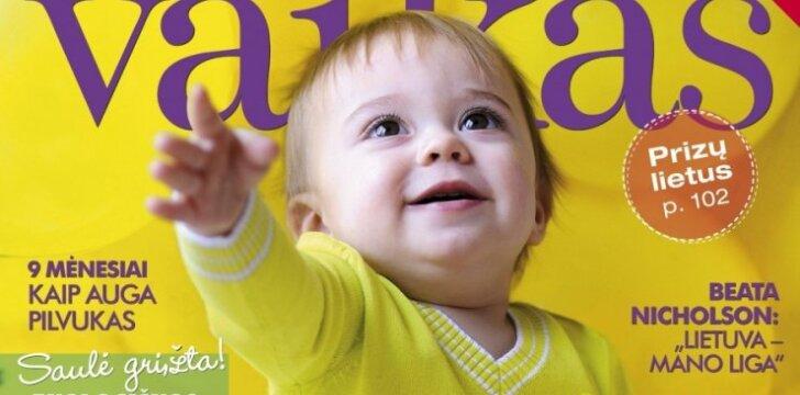 """Naujame žurnale """"Tavo vaikas"""" - laisvės vėjai"""