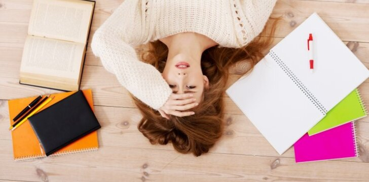 Kaip per egzaminų sesiją įveikti stresą ir nepalūžti?