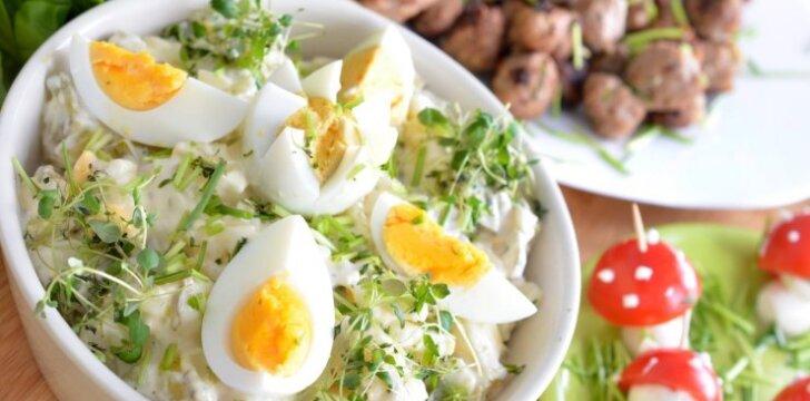Ypatinga kiaušinių mišrainė