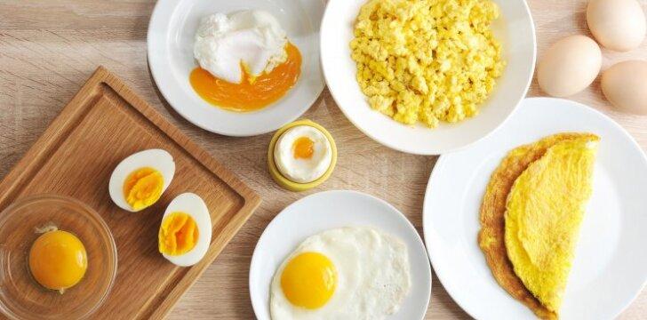 Mitai ir tiesa apie kiaušinius: kiek valgyti, iš kur pirkti, per kiek laiko suvartoti