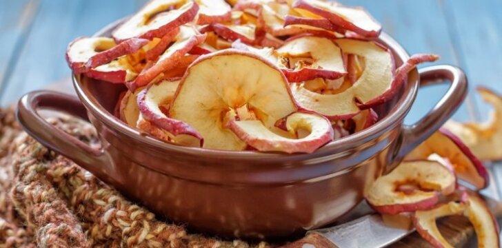 Du rudeniški obuolių traškučių receptai