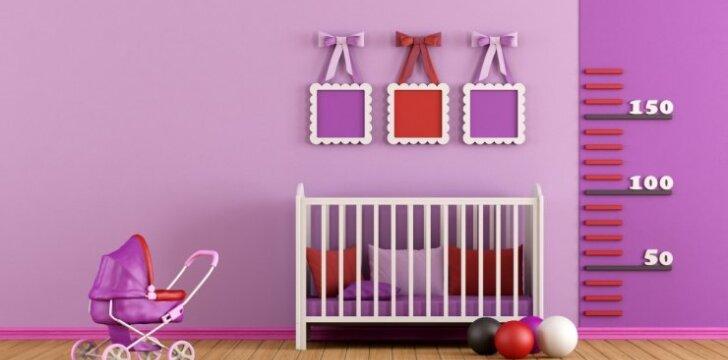 Kaip tinkamai įrengti kambarį vaikui, kad jis augtų sveikas ir protingas