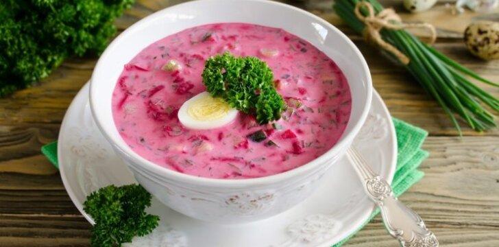 Kodėl lietuviai mėgsta šaltibarščius?