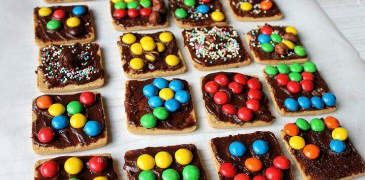 """Šventiškam savaitgaliui - saldus desertas <sup style=""""color: #ff0000;"""">vaikai gamina tėčiui</sup>"""
