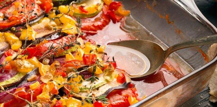 Ypatingas prancūziškas daržovių apkepas