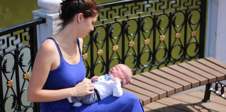 Iš ligoninės namo išsiųsta ir automobilyje pagimdžiusi jurbarkietė kaltų neieško