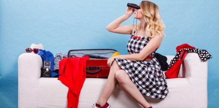 Kaip supakuoti daiktus į lagaminą, kad jų tilptų kuo daugiau