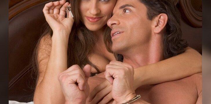 Vyras-Svarstyklės mielai iniciatyvą perleis moteriai. Su juo įgyvendinsite visas savo fantazijas.