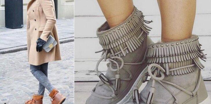 Kaip atrodys madingiausi šios žiemos batai