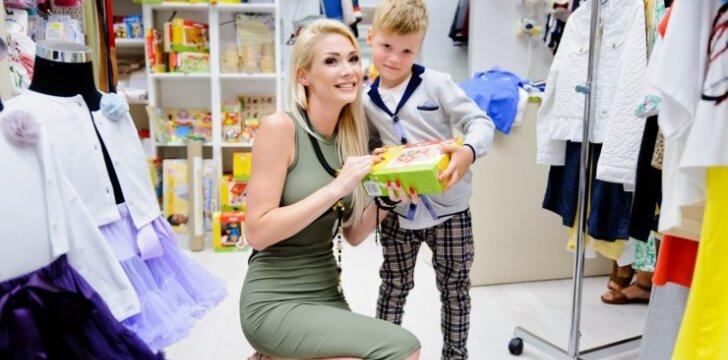 Natalija Bunkė papuošė sūnų penktajam gimtadieniui