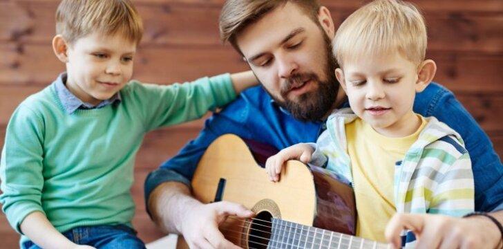 Žodžiai, kuriuos miegančiam sūnui pasakė tėtis