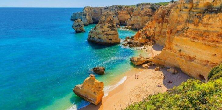 Algarvė - rojus Portugalijos pakrantėje