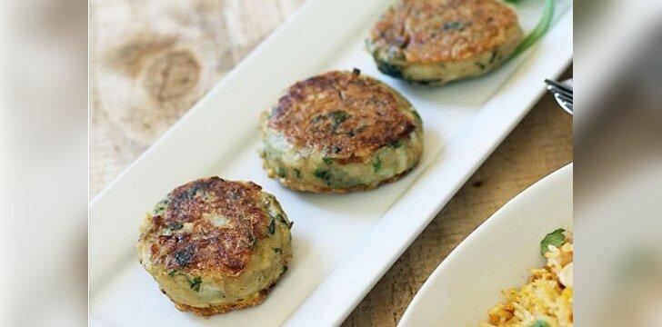 VALGYK. Bulvių kebabai su kalendra ir kuminu