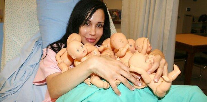 6 motinystės rekordai, įrašyti į Gineso knygą