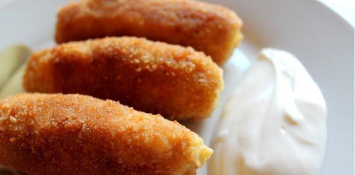 Bulviniai piršteliai, kurių skonis – kaip žemaičių blynų