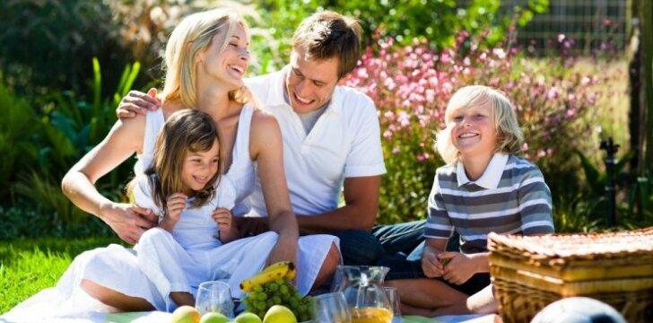 Ką veikti su vaikais pirmą rugsėjo savaitgalį