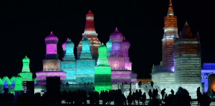 Ledo festivalis Kinijoje