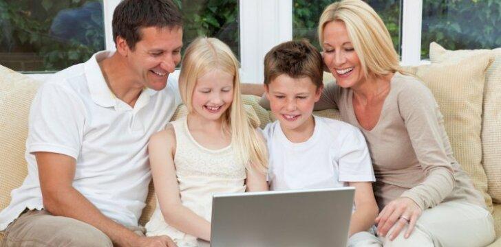 Savaitgalio renginiai šeimoms su vaikais