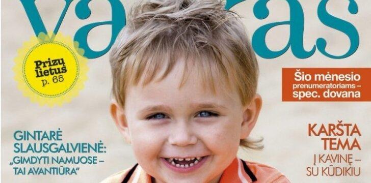 """""""Tavo vaiko"""" žurnalas rugpjūtį daug dėmesio skiria mitybai ir vaikų lavinimui"""
