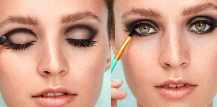 Padūmavusių  akių makiažas amžinai madingas, o šį sezoną jis dar ir kiek patobulintas